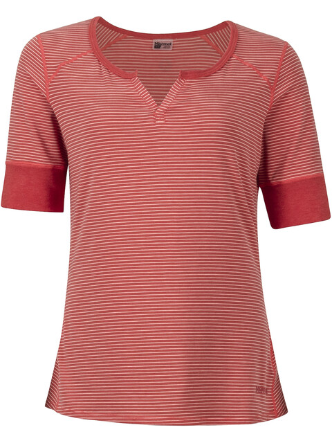 Marmot Cynthia SS Shirt Women Desert Red